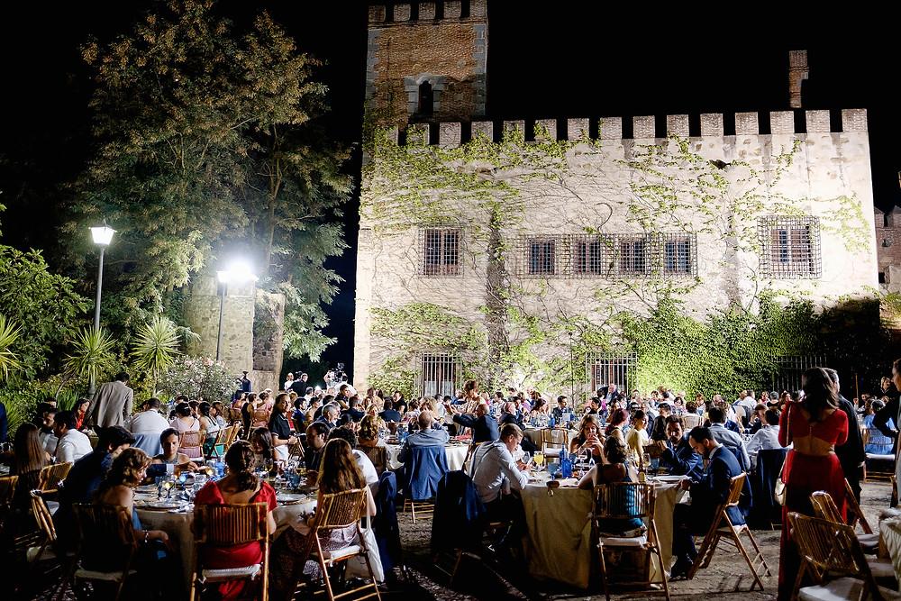 Boda en Salvaleón y Castillo señorío de la Granja