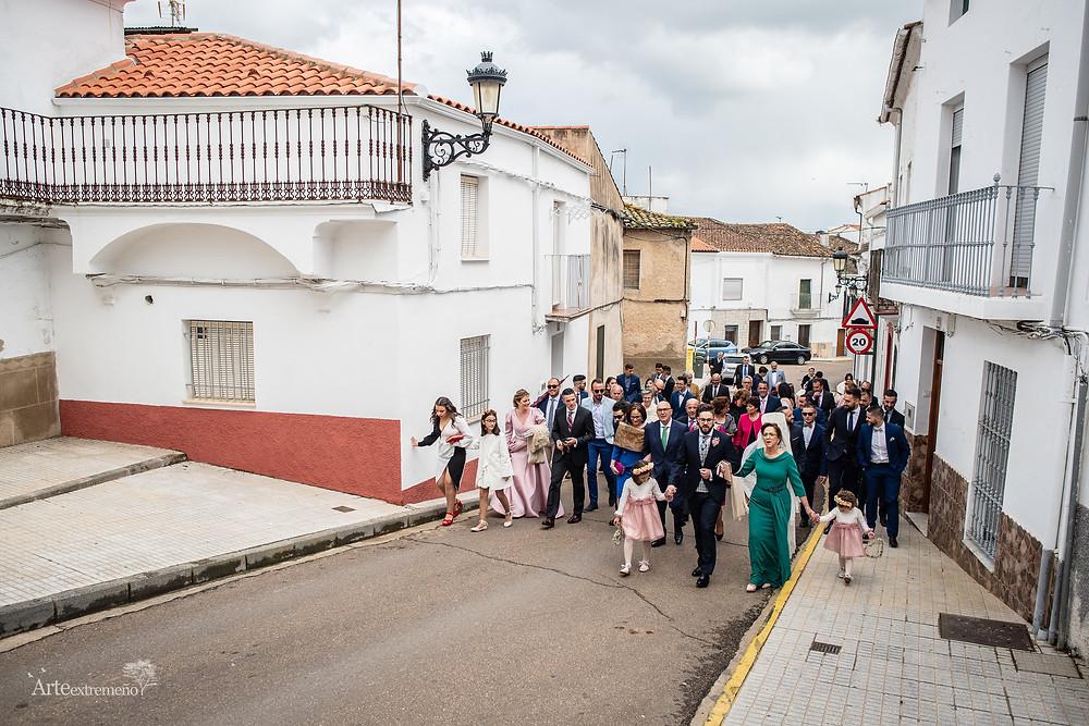 Boda en San Vicente de Alcántara y Hotel Las Bóvedas