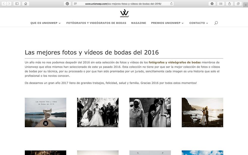 Arteextremeño. Las mejores fotografías de bodas del 2016