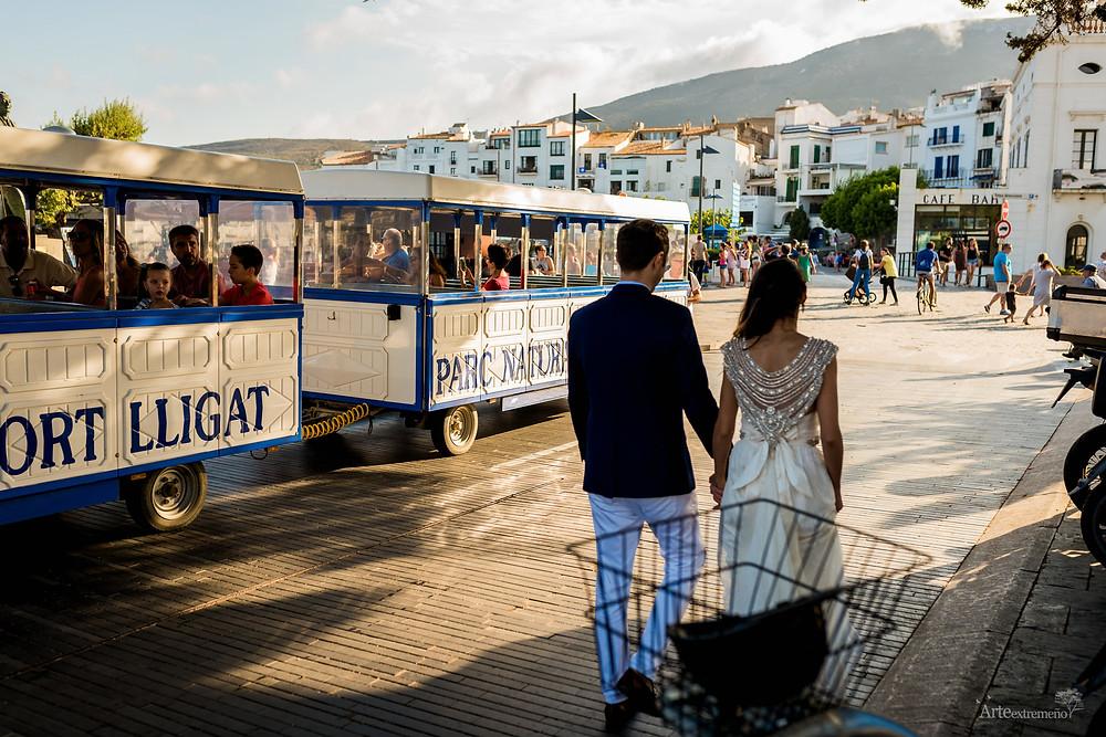 Boda en Cadaqués, Girona por Arteextremeño