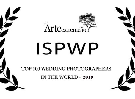 TOP 100 wedding photographers in the world, por segundo año consecutivo.