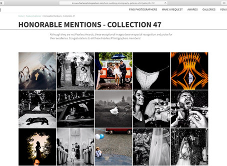 """Honorable Mentions"" en la colección 47 del concurso Fearless."