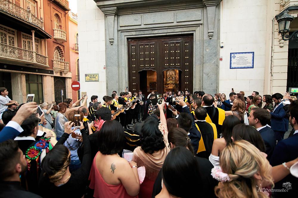 Boda en Ermita Soledad, Badajoz. Hotel Casino NH. Arteextremeño