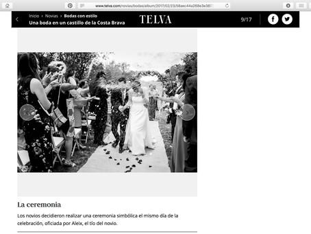 Trabajo de boda publicado en TELVA.