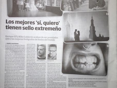 Arteextremeño en el Periódico Hoy.