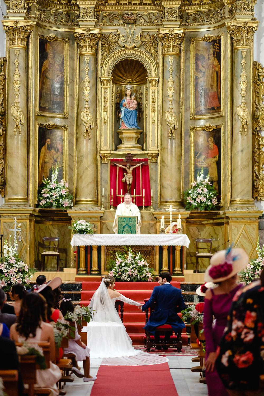 Boda de Jesús Diaz, Fini & Saray en las Bóvedas y parroquia San Agustín. Badajoz, por Arteextremeño