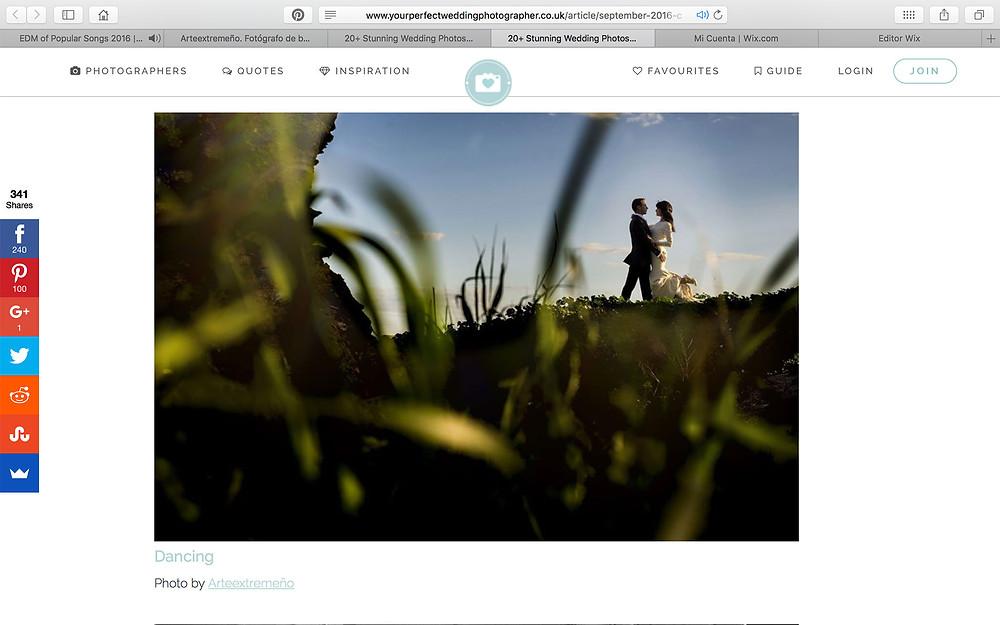 Arteextremeño fotógrafo de bodas
