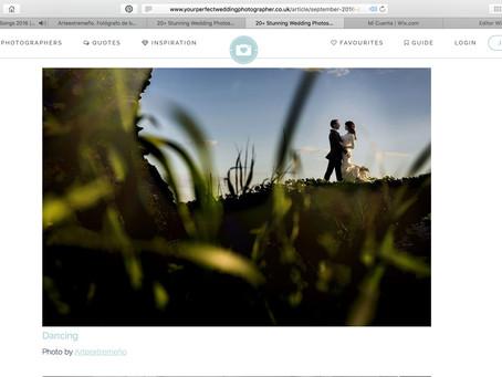 Artículo en Your perfect wedding photohrapher.