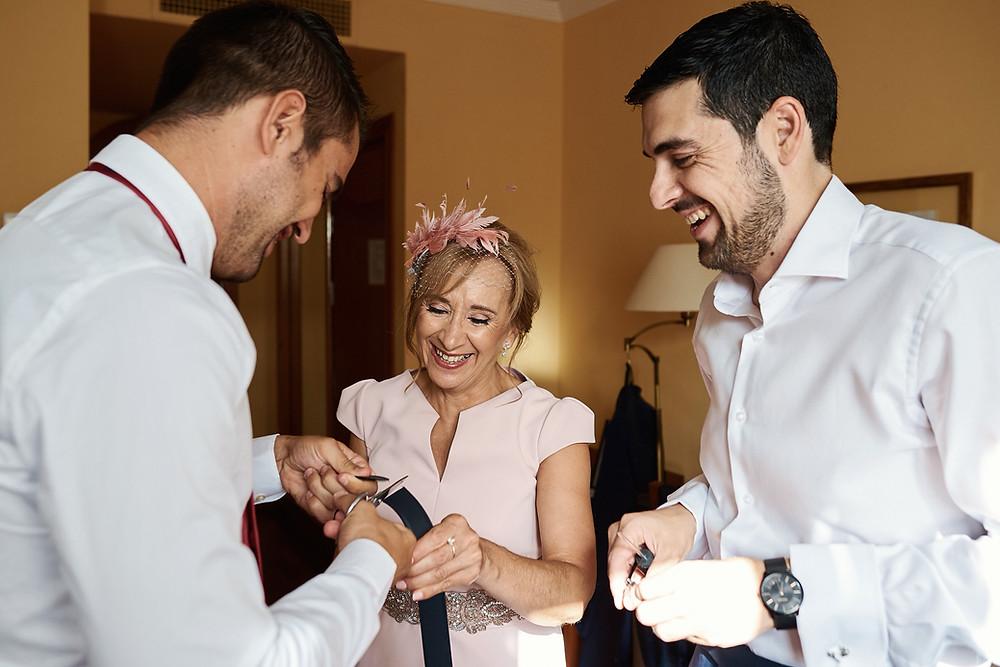 Boda de Rosi & Diego en Bodegas Medina, Zafra.