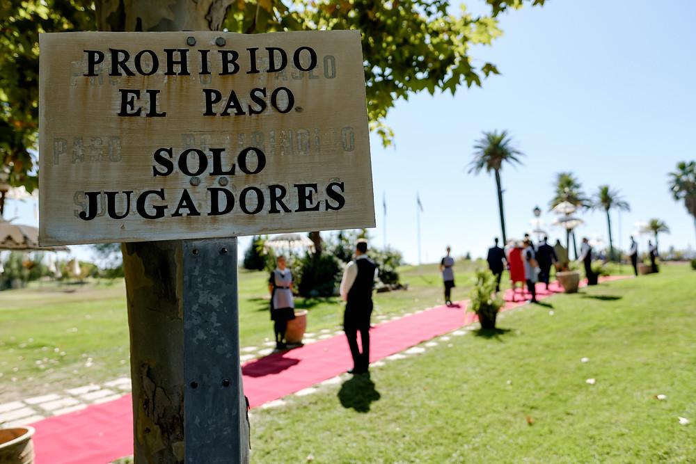 Boda en el Golf Guadiana de Badajoz y en la catedral. Por Arteextremeño.