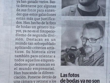 Columna en el Periódico Hoy.