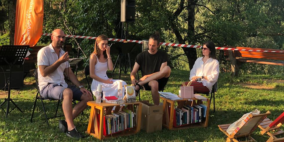 Predstavitev knjige Naselili smo se v tkanine – Ci siamo insediati nei tessuti v Novi Gorici