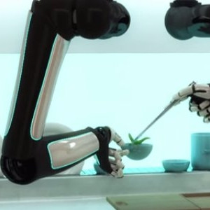Robotic kitchen, complete with arms, will prepare and cook recipes