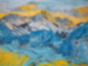 Cumbrian Moutains [etching_pastel]#6C89.