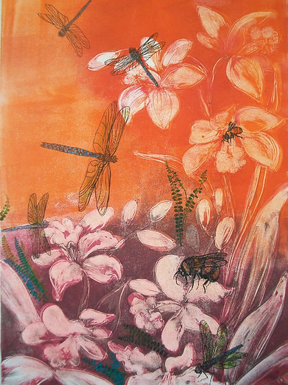 Dragonfly and Orchids.jpg