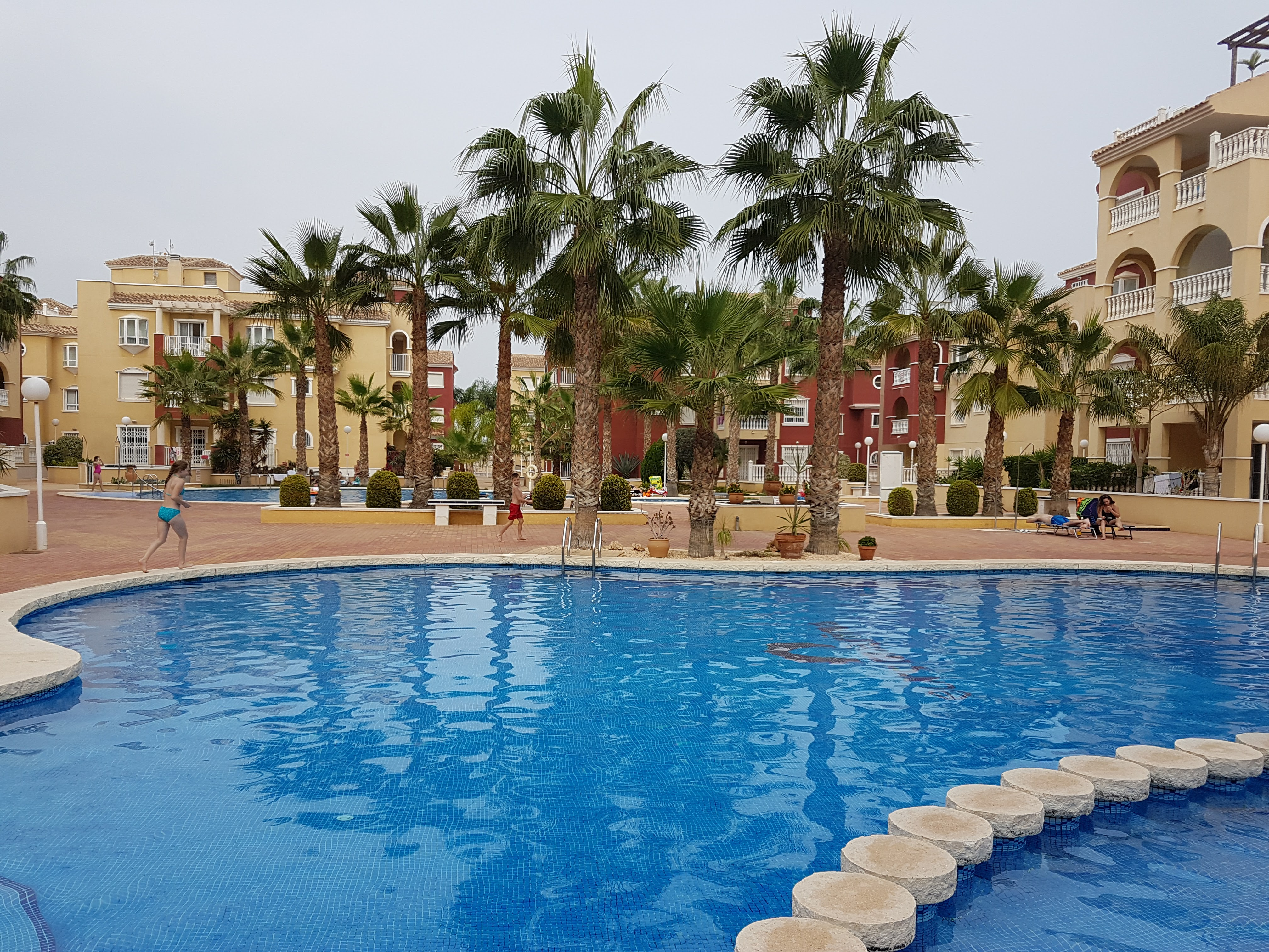 1 of 3 communal pools available