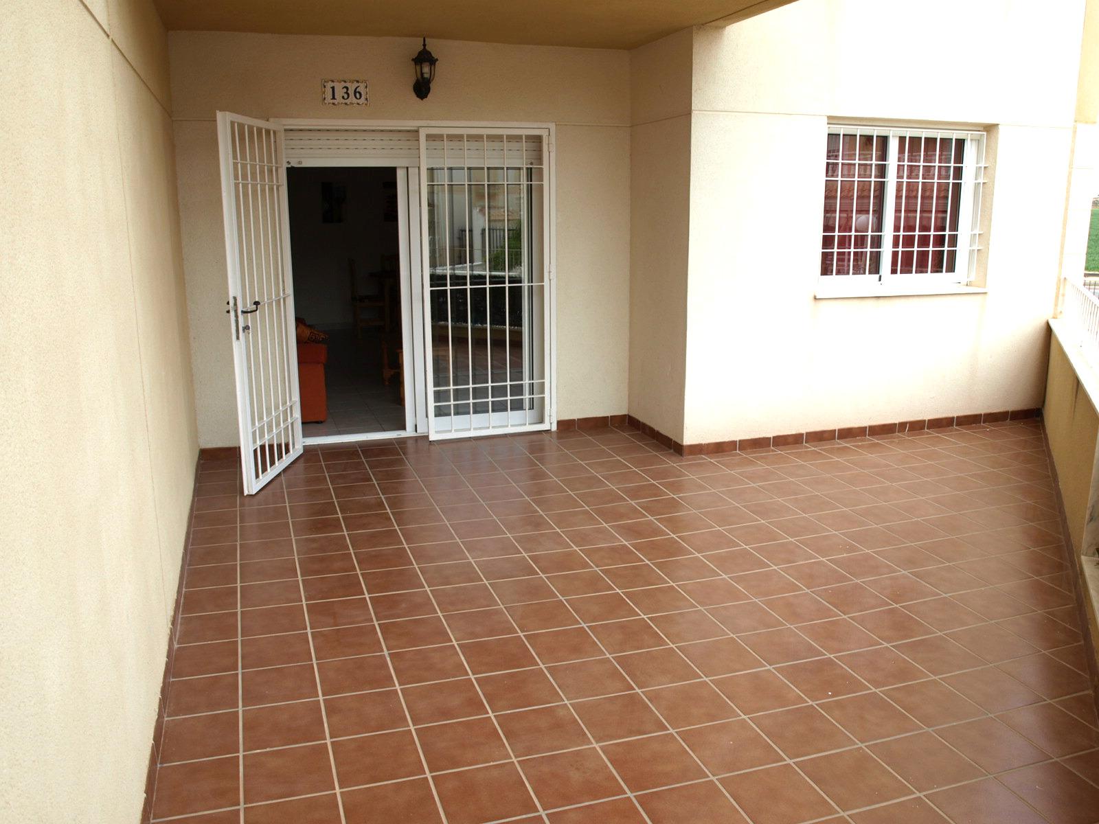 Large External Terrace
