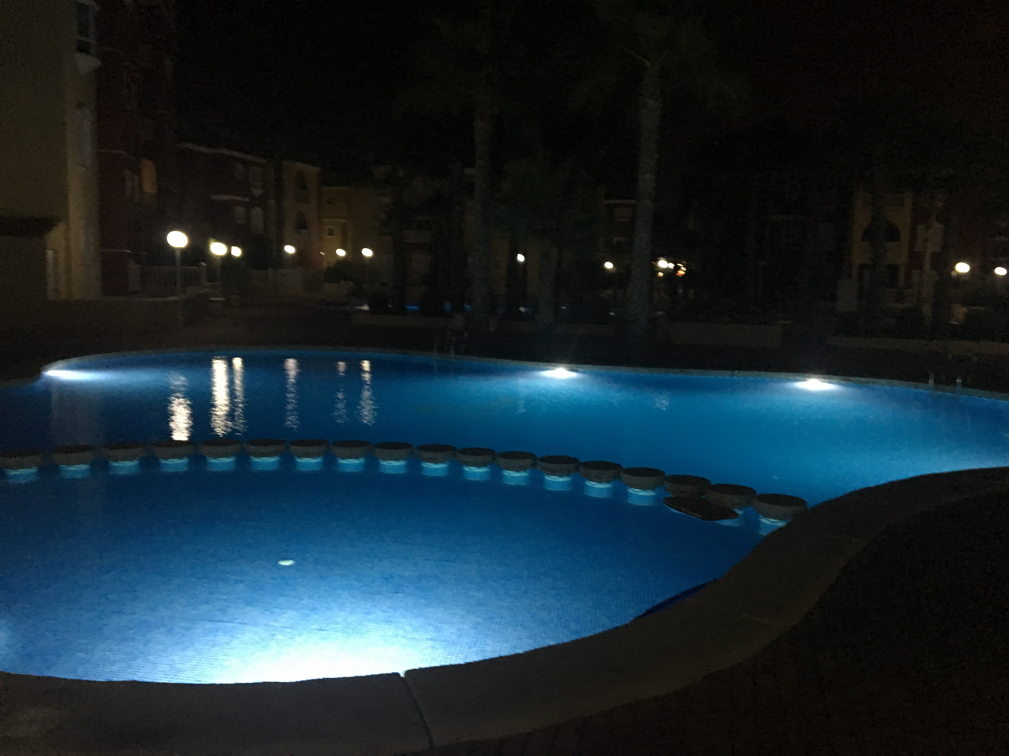 Pool of evening