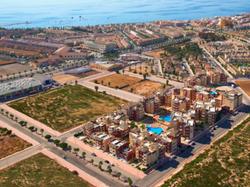 Euromarina aerial view