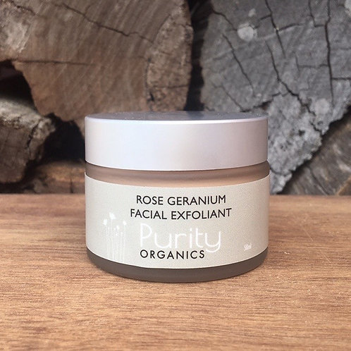 ROSE GERANIUM FACIAL EXFOLIANT