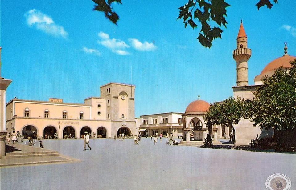Κως. πλατεία Ελευθερίας