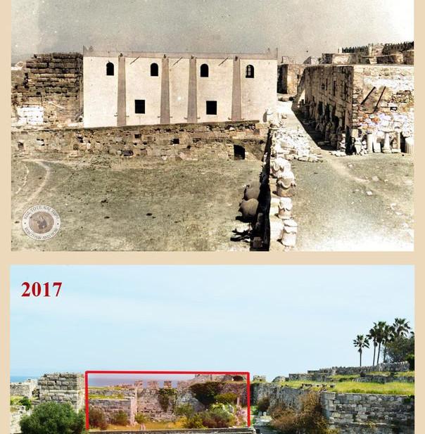 Κως. Οθωμανικός στρατώνας