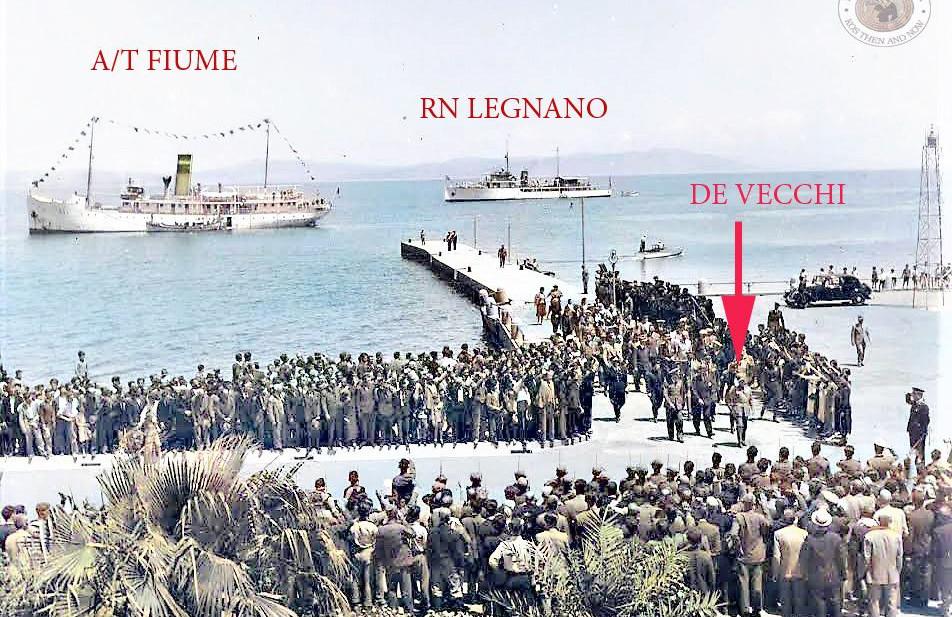 Κως 1938. Επίσκεψη De Vecchi