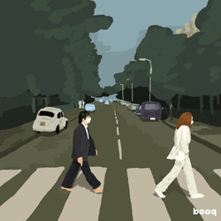 the beatles on the abbey road--booq-veronicalinti
