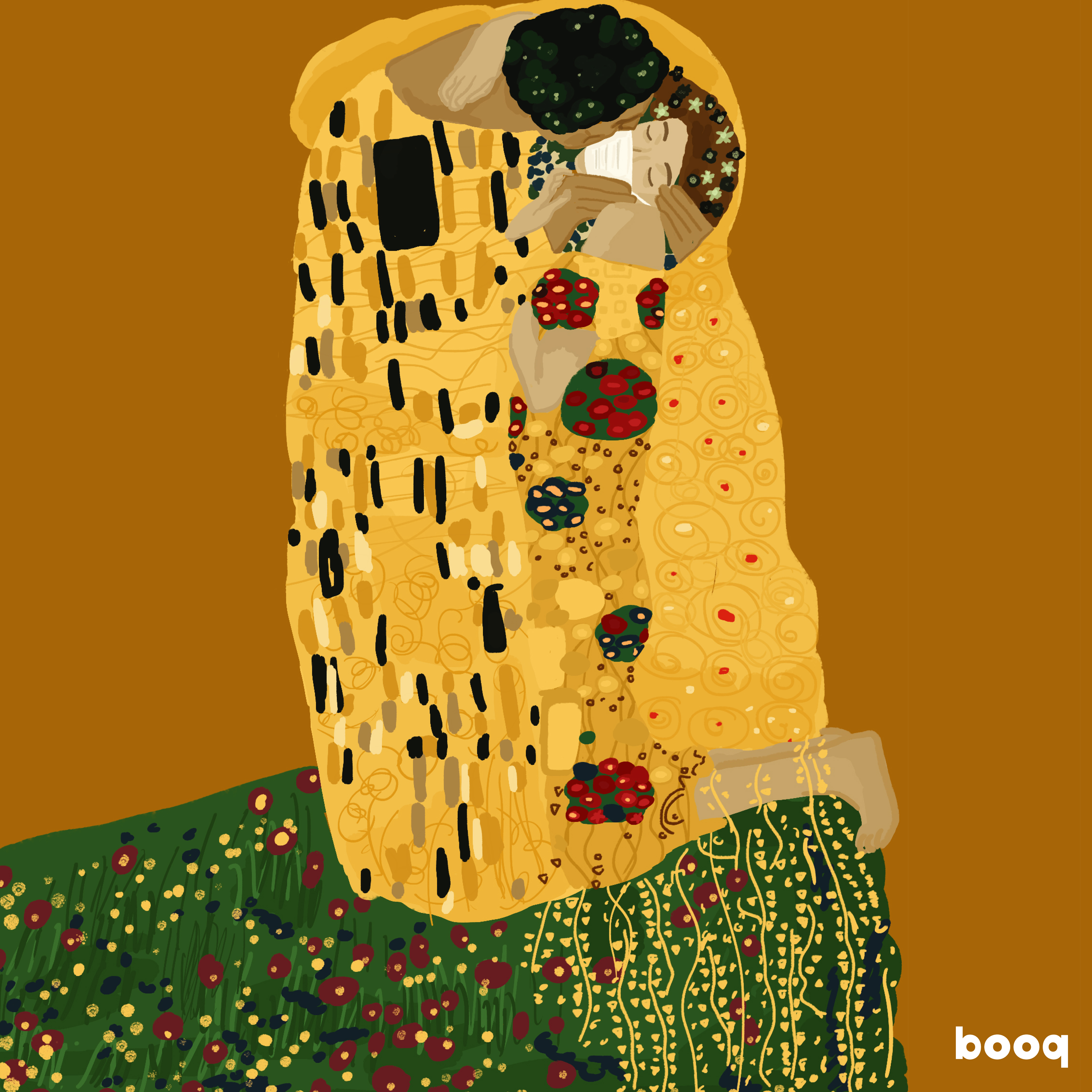the kiss-gustav klimt--booq-veronicalinti
