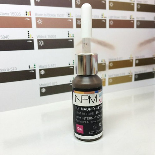 "NPM Russia Пигмент Seduction colors ""Madrid"""