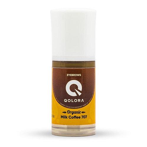 QOLORA ORGANIC 707 Milk Coffee (брови)