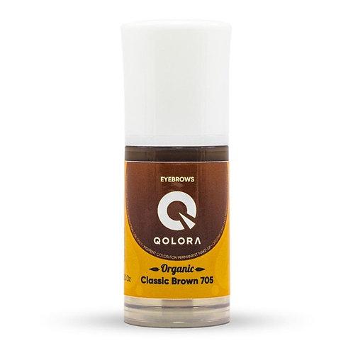 QOLORA ORGANIC 705 Classic Brown (брови)