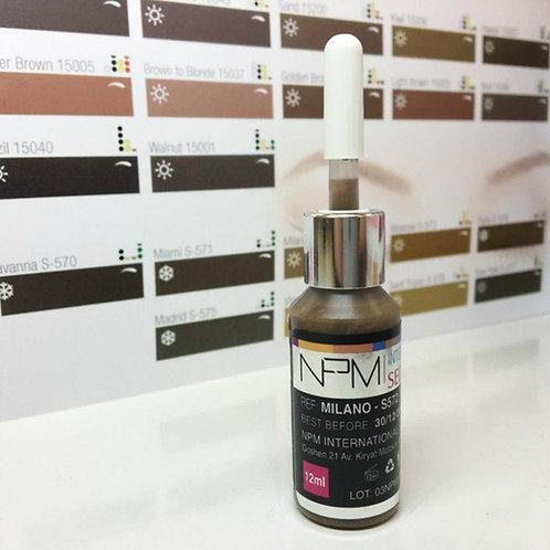 "NPM Russia Пигмент Seduction colors ""Milano"""