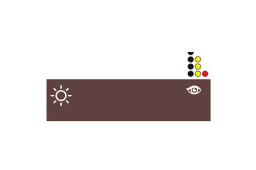 "NPM Russia Пигмент Eyeshadow Colors - ""Brown Set"""