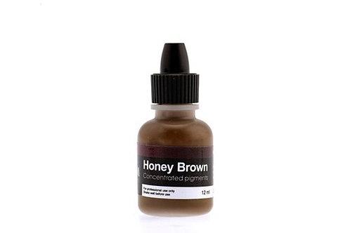 "NEW PM Colors Пигменты для бровей - ""Honey Brown"""