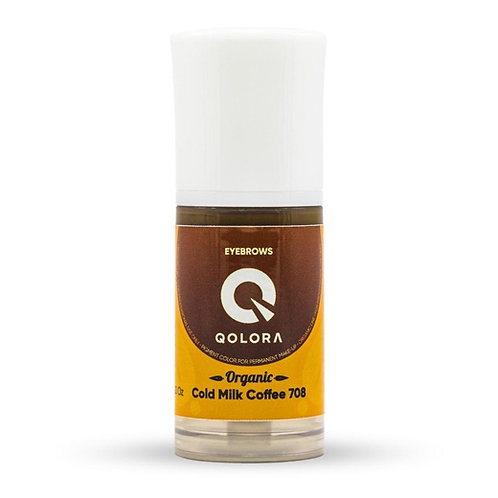 QOLORA ORGANIC 708 Cold Milk Coffee (брови)