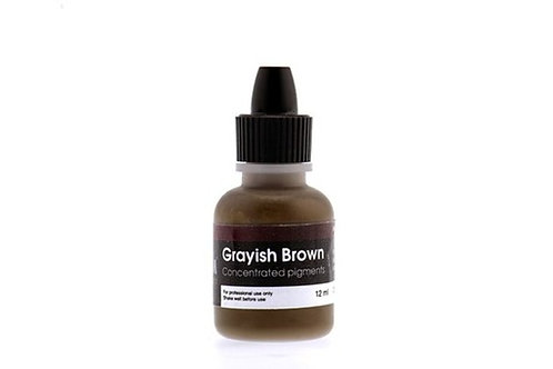 "NEW PM Colors Пигмент корректор - ""Graywish Brown"""
