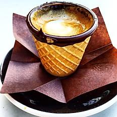 Espresso in a Cone