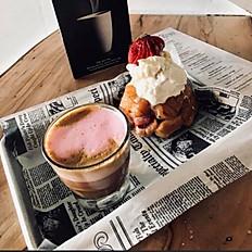 Strawberry Shortcake Monkey Bread