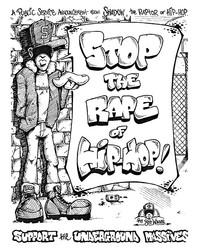 Stop The Rape of Hip-Hop Flyer