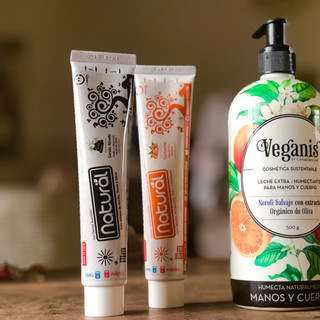 Vegan Cosmetics and Bath Products