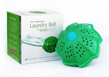 Smartklean laundry ball detergent replacement non-toxic money saving