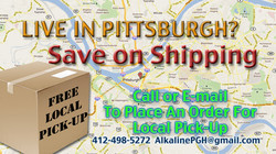 Save on shipping in Pittsburgh