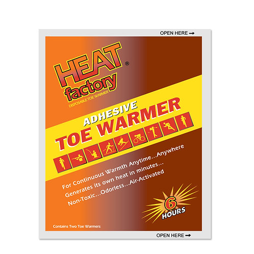 Toe Warmers - Heat Factory