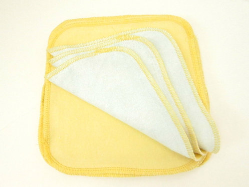 10 x Organic Bamboo Cloth Wipes