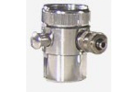 """Upgraded """"Made in USA"""" Faucet Diverter -push"""