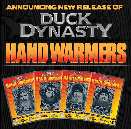 Duck Dynasty Hand Warmers (40 pairs)
