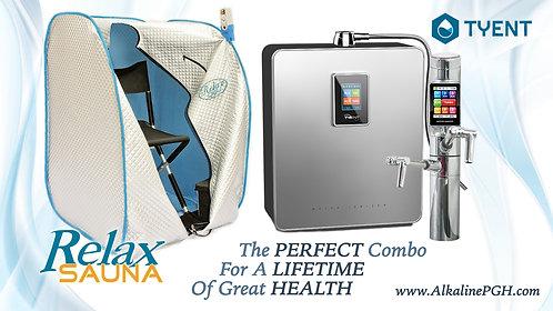 Tyent 11-Plate Ionizer + Relax Sauna
