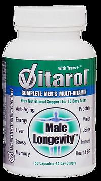 Vitarol Male Longevity health supplement