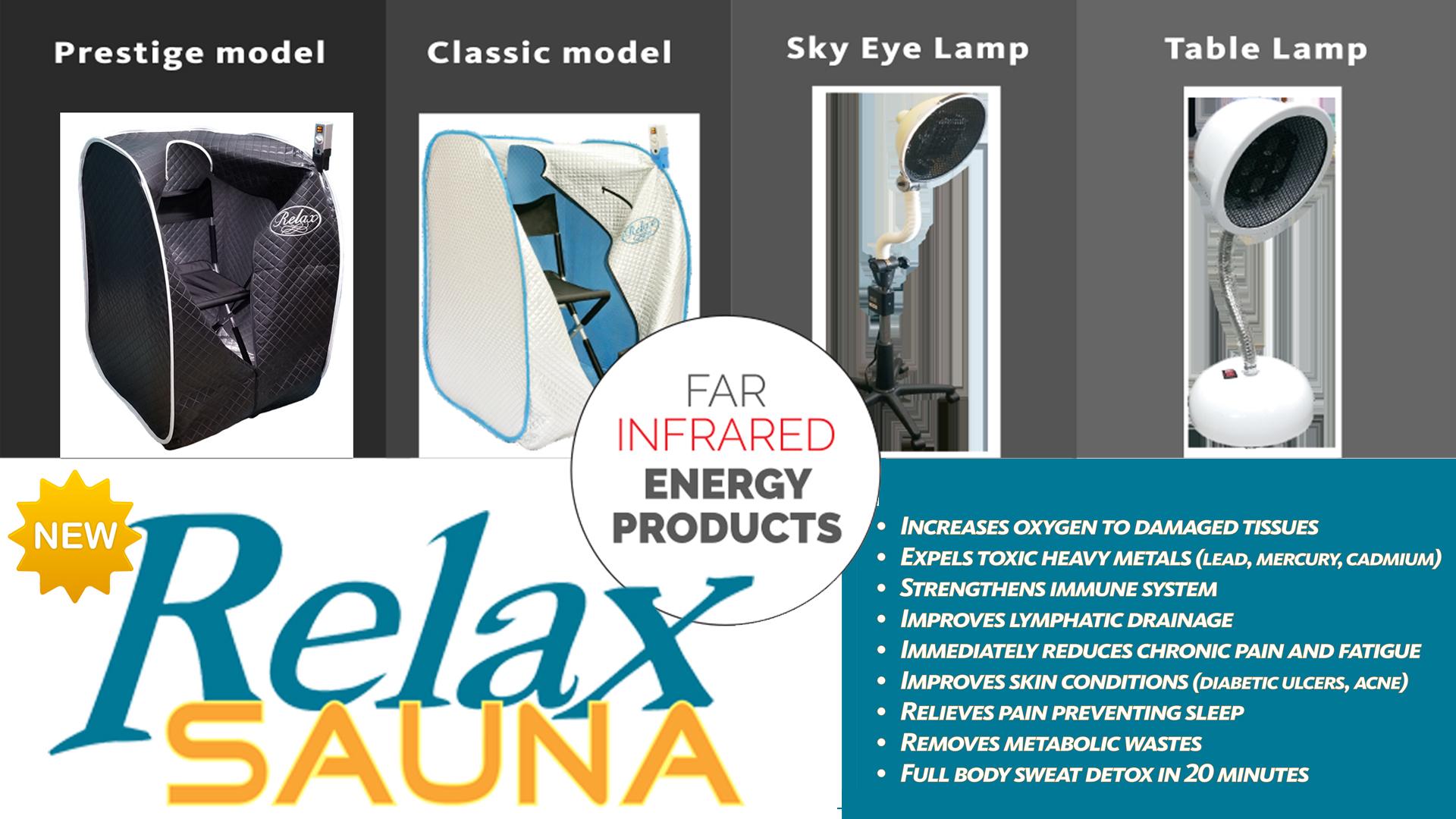 Relax Sauna web banner